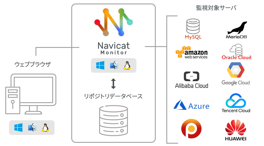 Navicat 画面イメージ